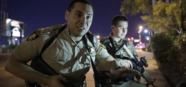 拉斯维加斯枪击案震惊美国,控枪呼声又起(14图)