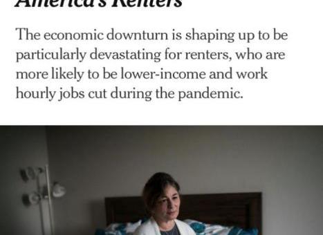 残酷!全美各地恢复驱逐令 疫情下滞交房租将无家可归