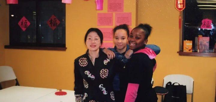 我在美国黑人学校教中文